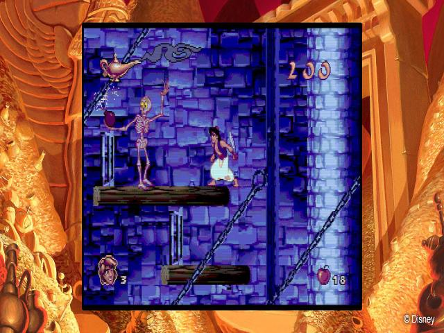 disney classic games: aladdin and the lion king - game cover