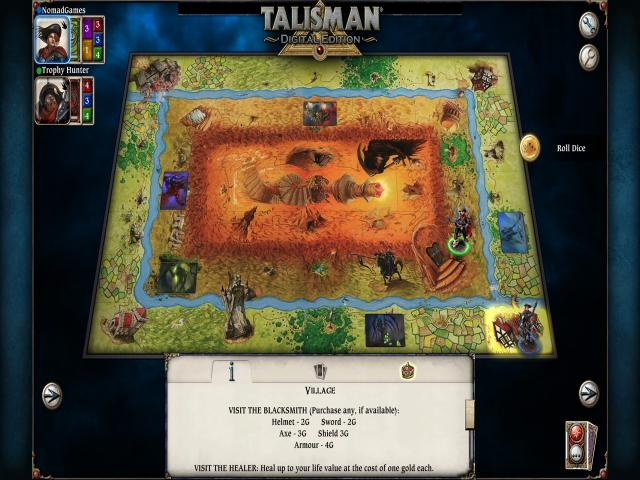 talisman - the ancient beasts - game cover