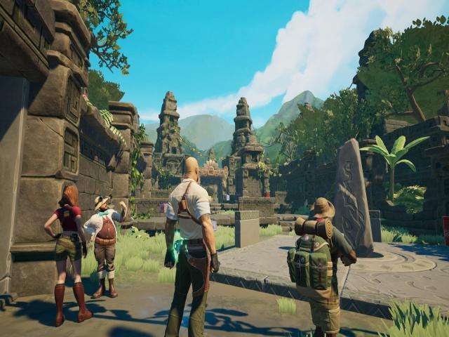 jumanji: the video game - game cover
