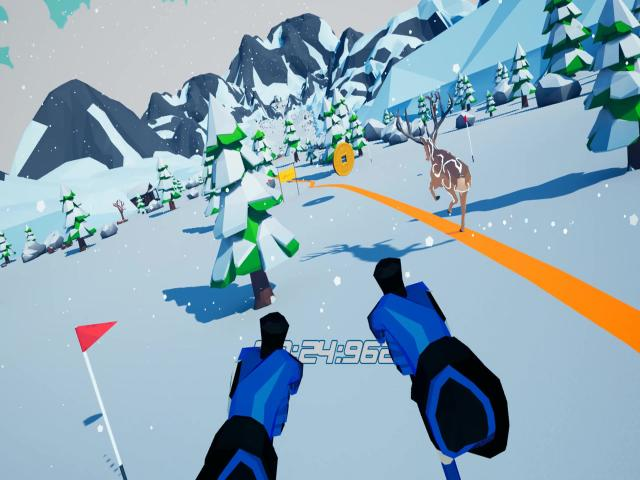 let's go! skiing vr - title cover