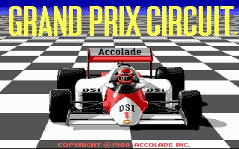 Grand Prix Circuit - game cover