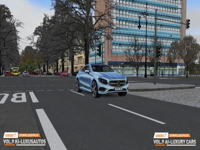 omsi 2 downloadpack vol. 9 - ai luxury cars - game cover
