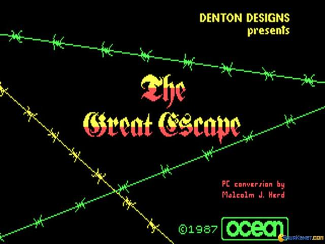 The Great Escape - title cover