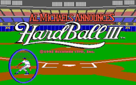 Hardball 3 - game cover