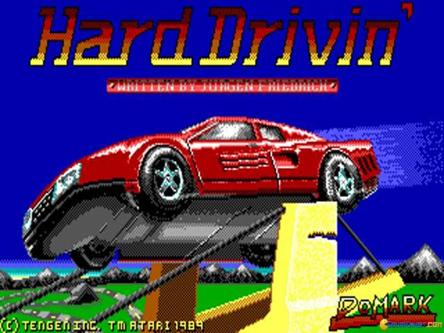 Hard Drivin' - game cover