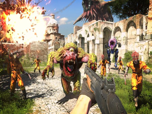 serious sam 4 - title cover