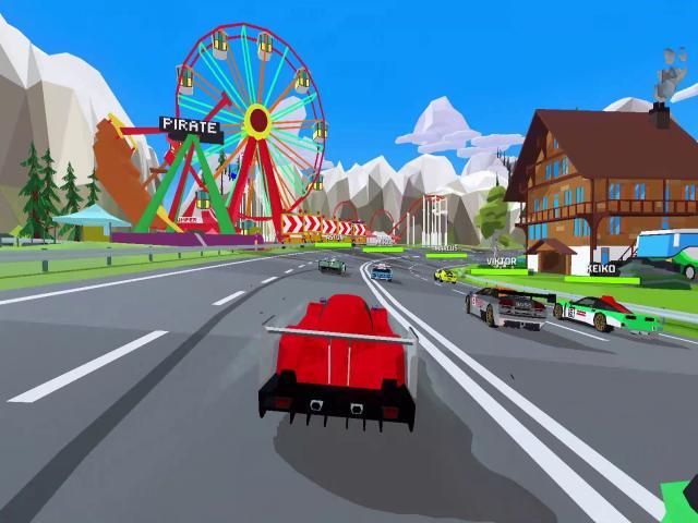 hotshot racing - game cover
