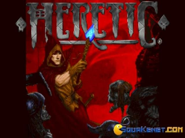 Heretic - title cover
