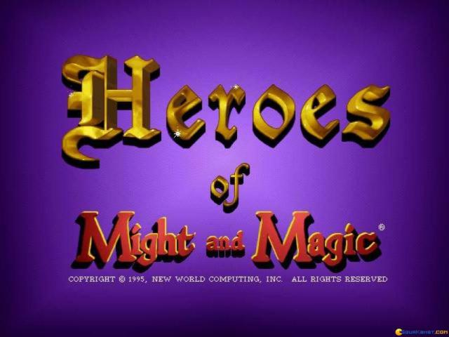Heroes of Might and Magic - title cover