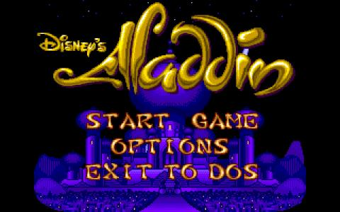 Aladdin - game cover