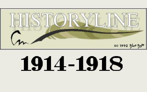 History Line 1914-1918 - title cover