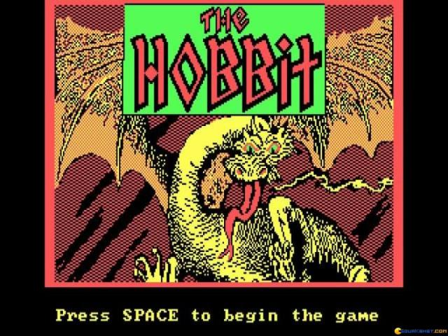 The Hobbit - title cover