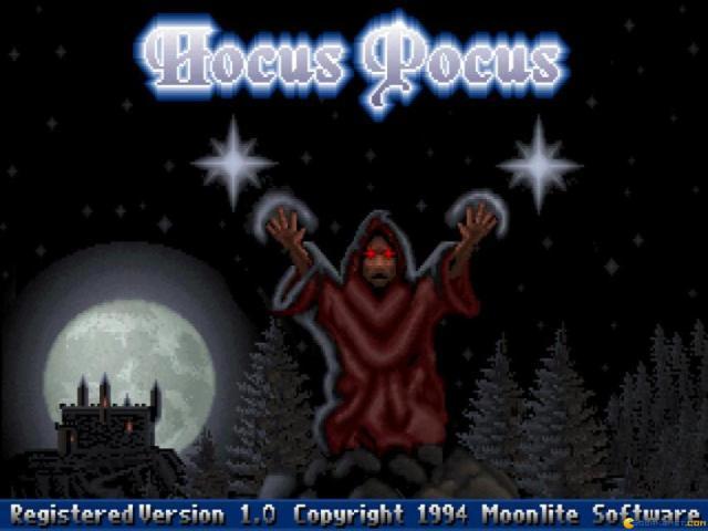Hocus Pocus - title cover