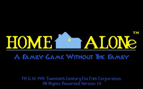 Home Alone - title cover