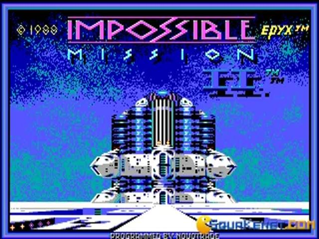 Impossible Mission 2 - title cover