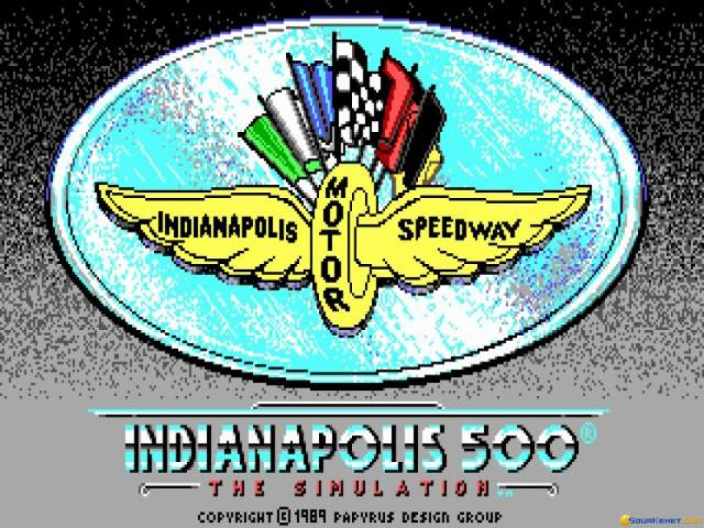 Indianapolis 500 - game cover