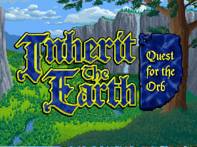 Inherit the Earth: Quest for the Orb - title cover