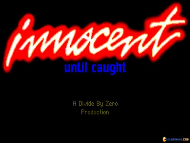 Innocent Until Caught - game cover