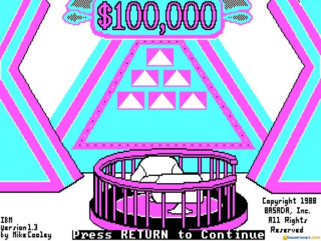 100000 Dollar Pyramid - game cover