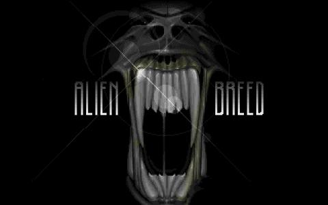 Alien Breed - title cover