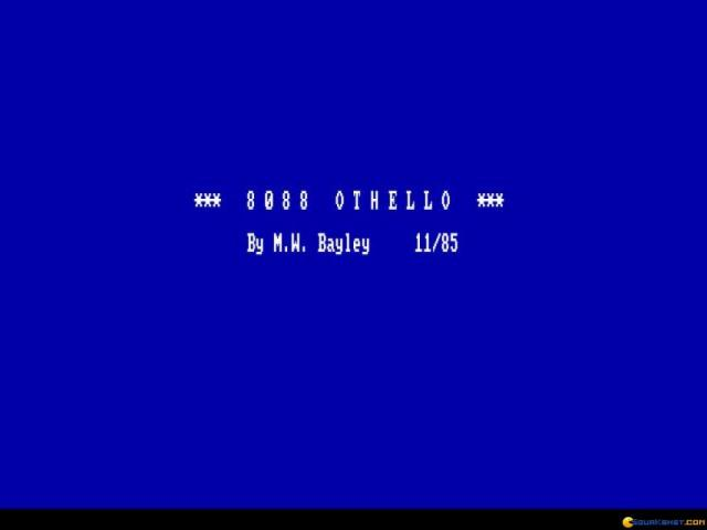 8088 Othello - title cover