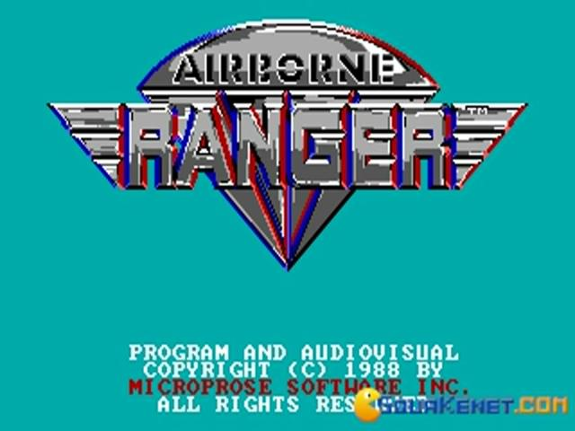 Airborne Ranger - title cover
