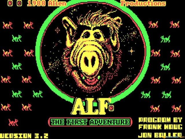 Alf - game cover