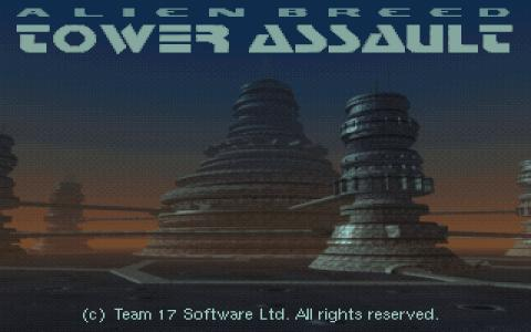 Alien Breed: Tower Assault - title cover