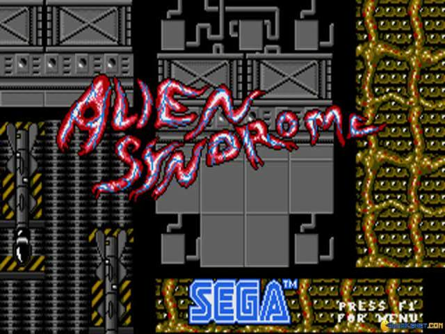 Alien Syndrome - title cover