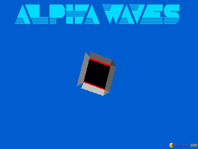 Alpha Waves - game cover