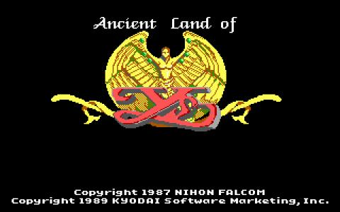 Ancient Land of Ys - title cover