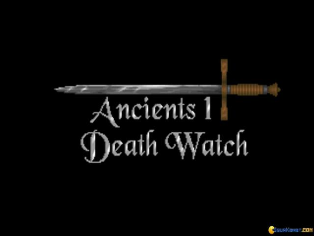 Ancients 1: Death Watch - title cover