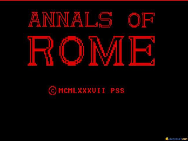 Annals of Rome - title cover