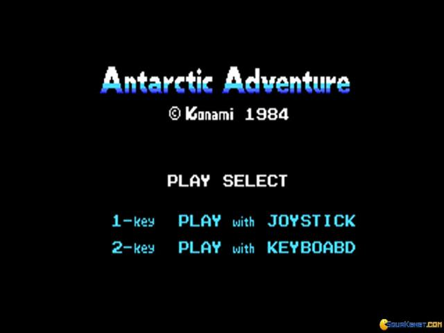 Antarctic Adventure - game cover