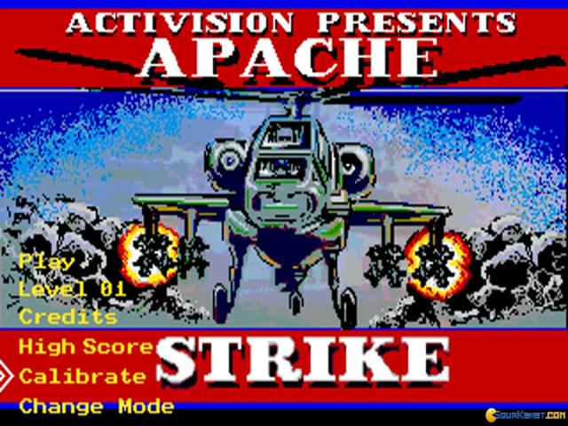 Apache Strike - title cover