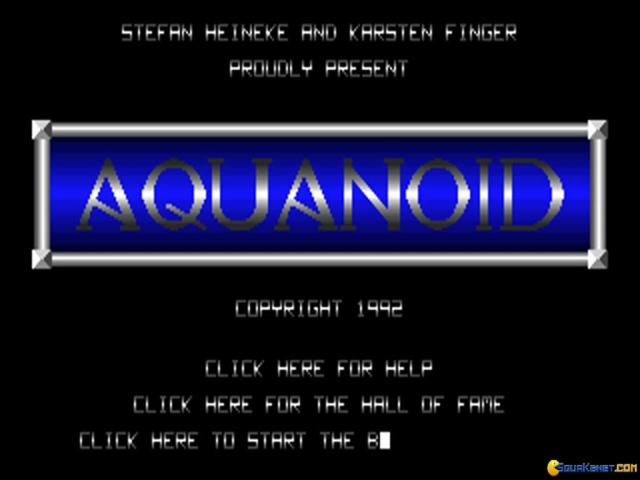 Aquanoid - title cover