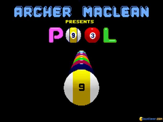 Archer MacLean's Pool - game cover