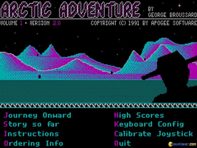 Arctic Adventure - title cover