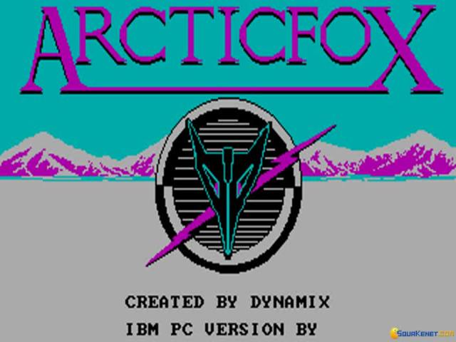 Arctic Fox - title cover