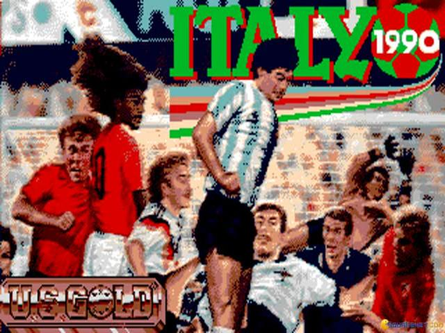 Italy '90 - game cover