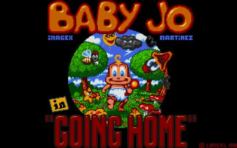 Baby Jo in Going Home - title cover