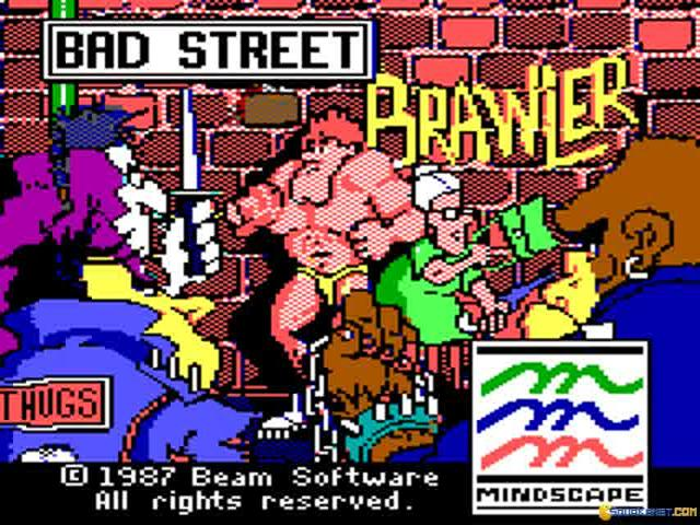 Bad Street Brawler - title cover