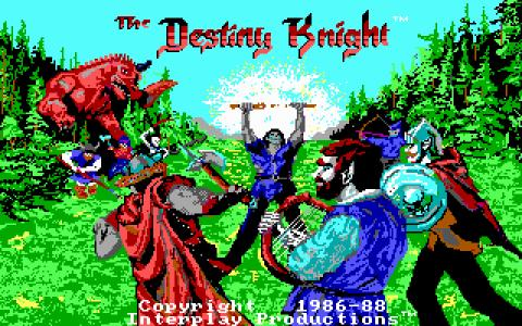 Bard's Tale 2 - The Destiny Knight - title cover