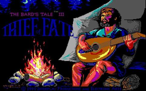 Bard's Tale 3 - Thief of Fate - title cover