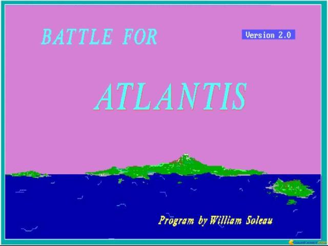 Battle For Atlantis - title cover