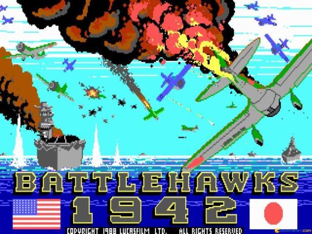 Battlehawks 1942 - game cover
