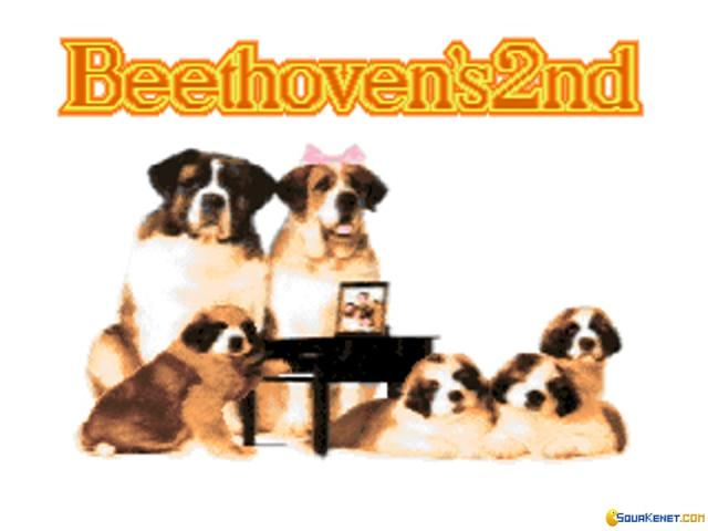 Beethoven's 2nd - game cover