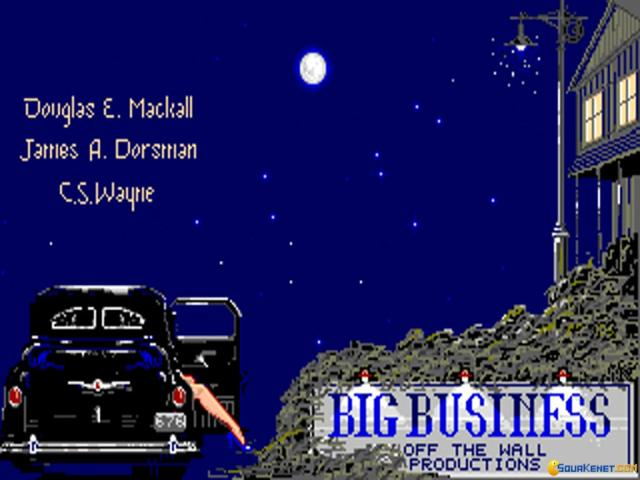 Big Business - title cover