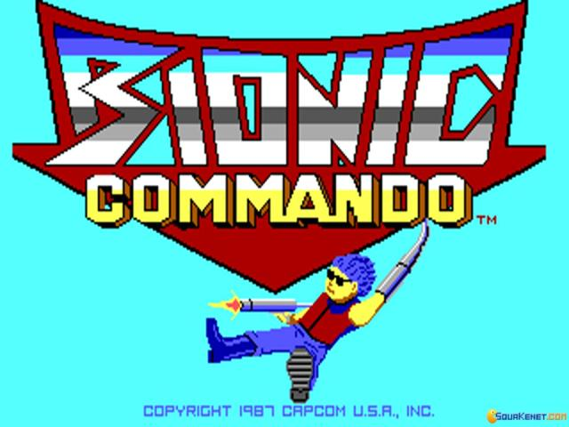 Bionic Commando - title cover