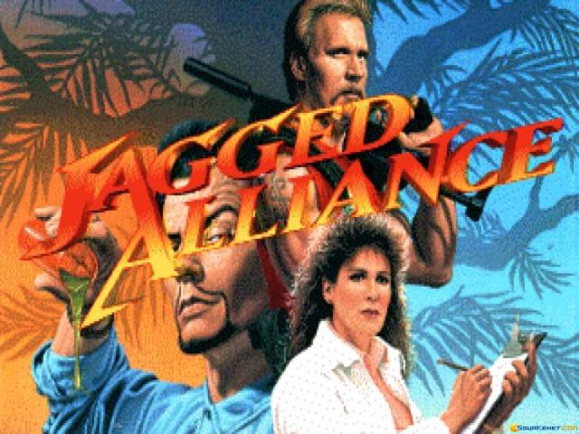 Jagged Alliance - title cover